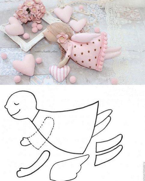 Выкройки текстильных игрушек