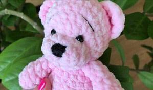 Видео МК по вязанию медведя