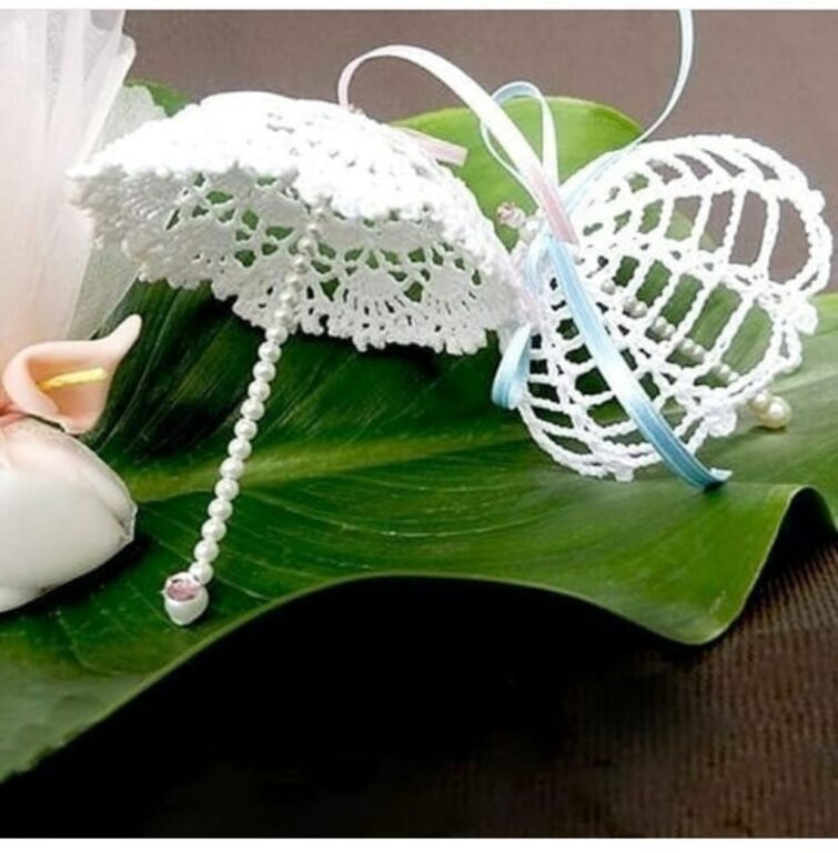 Зонтики крючком handmade