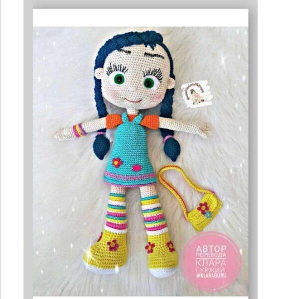 Кукла крючком Hand Made