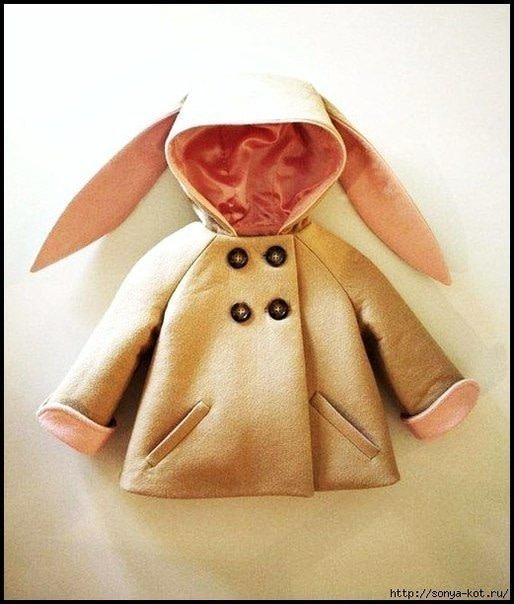 МК. Выкройка пальто кукле