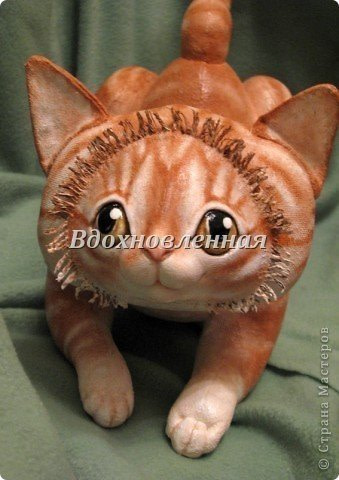 Выкройка Текстильного котика