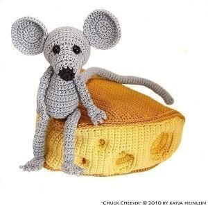 Мышка с сыром Hand Made