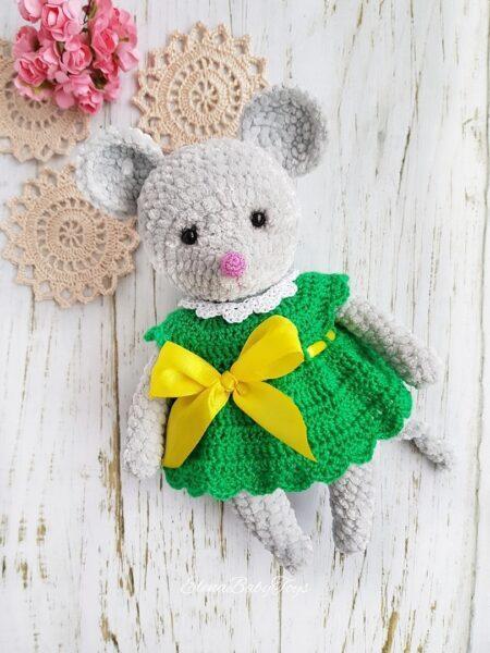 Мышка в платье Hand Made
