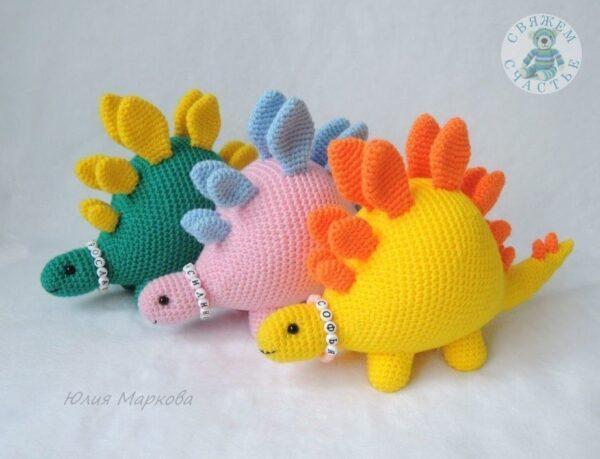 Динозаврики hand made