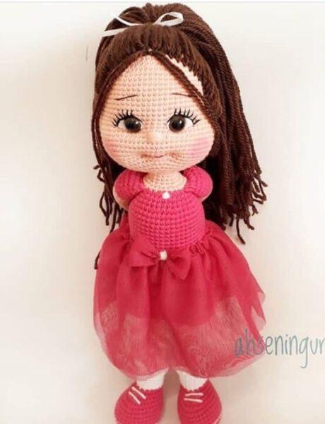 Куколка крючком handmade