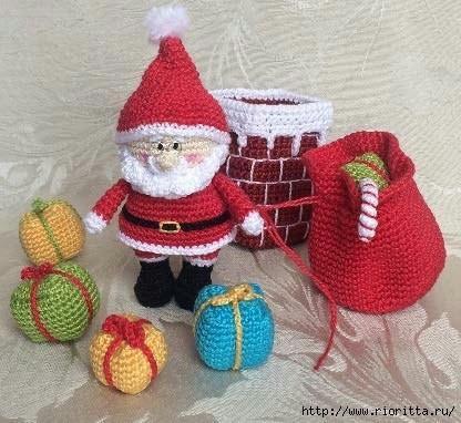 Санта и Гном Hand Made