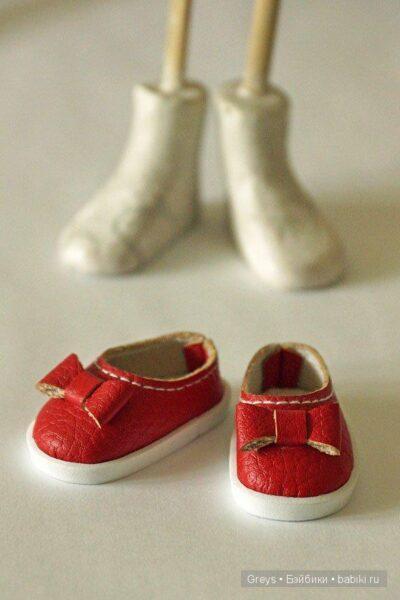 Обувь кукле Hand Made